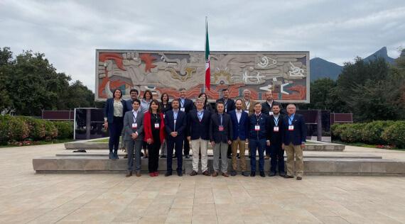 La ECAS participó del Congreso Internacional Técnico de Monterrey