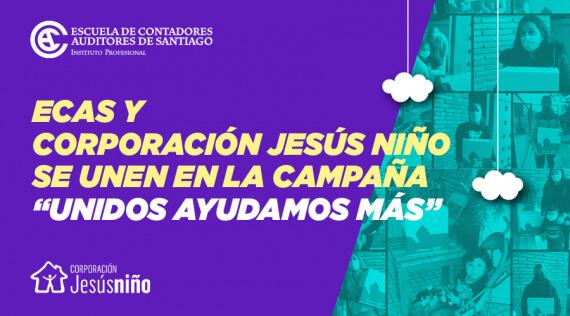 """La ECAS y la Corporación Jesús Niño se unen en la campaña """"Unidos ayudamos más"""""""