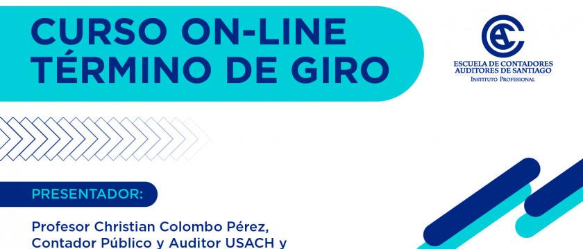 ECAS abre convocatoria para curso on-line Término de Giro